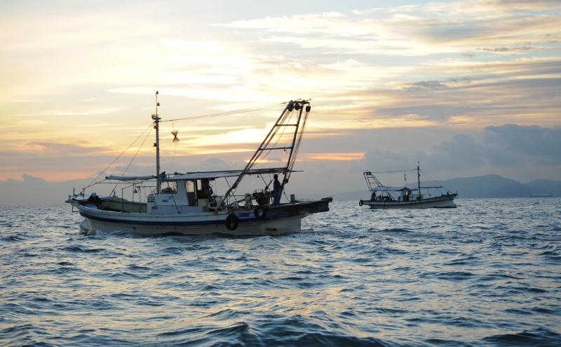 底びき網漁業