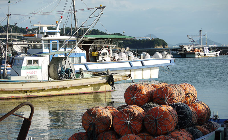 岡山県の漁業を支える